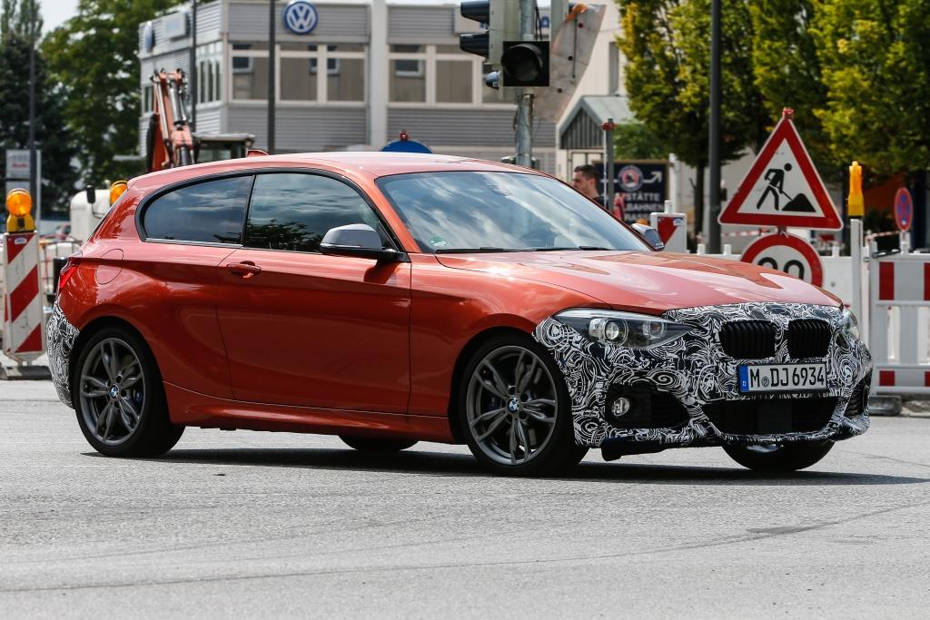 Erwischt: BMW 1er Facelift