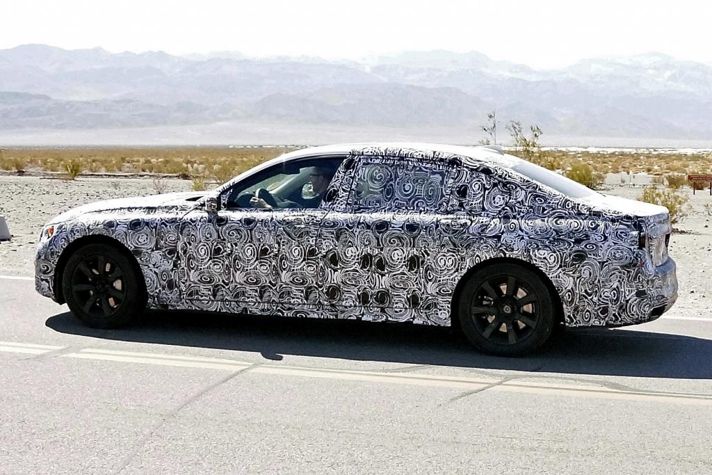 Erwischt: Erlkönig BMW 7er Langversion