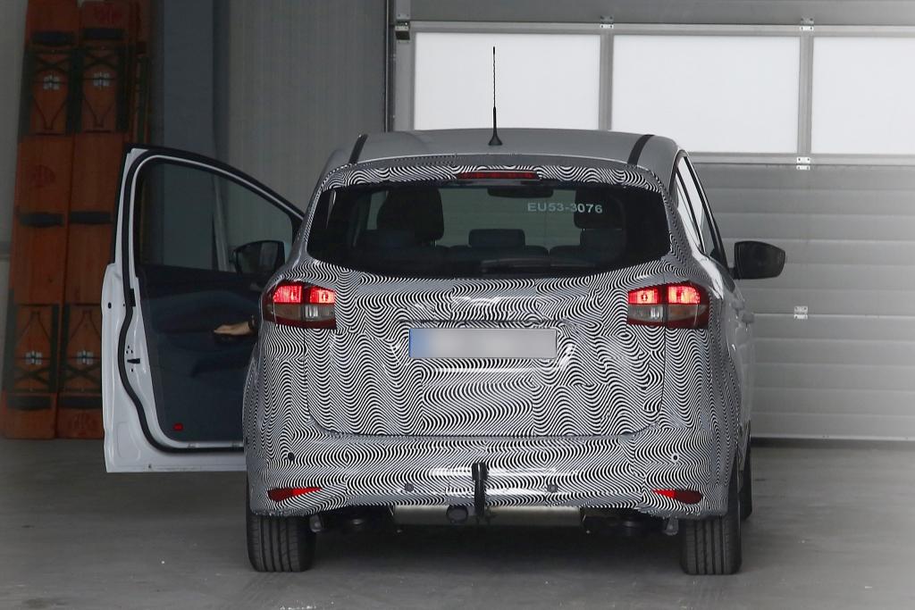 Erwischt: Erlkönig Ford C-Max Facelift - Familienkutsche mit Sportwagen-Optik