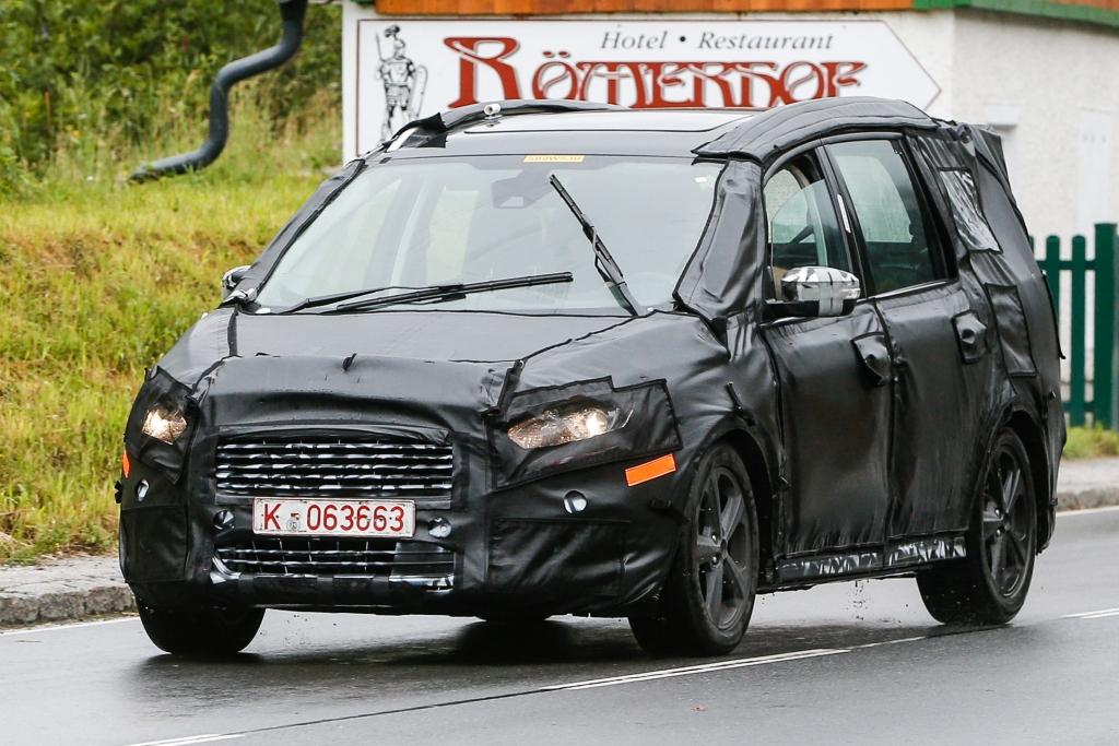 Erwischt: Erlkönig Ford Galaxy - Flaggschiff auch als Vignale