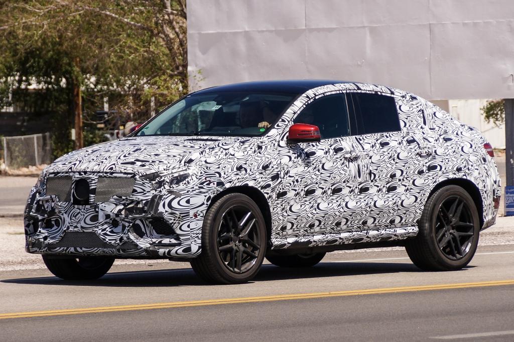 Erwischt: Erlkönig Mercedes MLC - Angriff auf den BMW X6