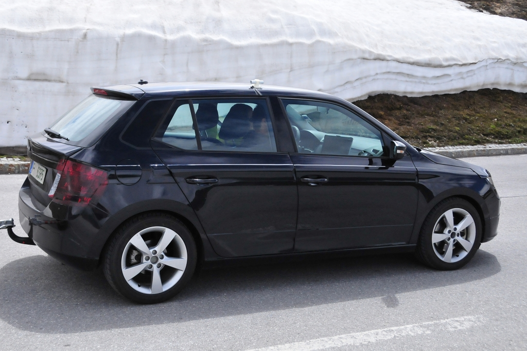 Erwischt: Erlkönig Skoda Fabia III - Kleiner Tscheche in den Alpen unterwegs