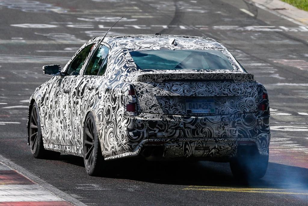Erwischt: Erlknig Cadillac CTS-V - Ami auf Speed