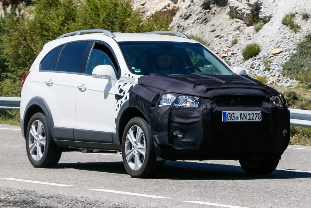 Erwischt: Erlknig Chevrolet Captiva - Dritter Frhling