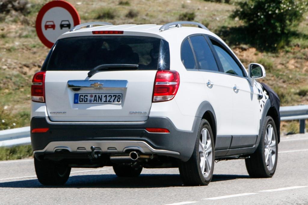 Erwischt: Erlknig Chevrolet Captive - Dritter Frhling