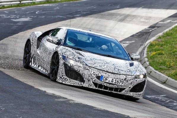 Erwischt: Erlknig Honda/Acura NSX auf dem Nrburgring