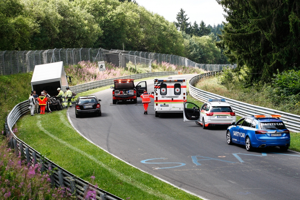 Erwischt: Erlknig Honda/Acura NSX auf dem Nrburgring nicht zu verkennen
