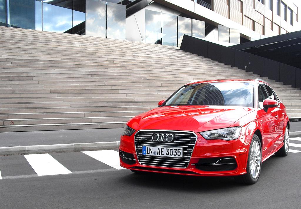 Für Audi ist der neue A3 Sportback e-tron der Einstieg in die Serien-Elektromobilität.