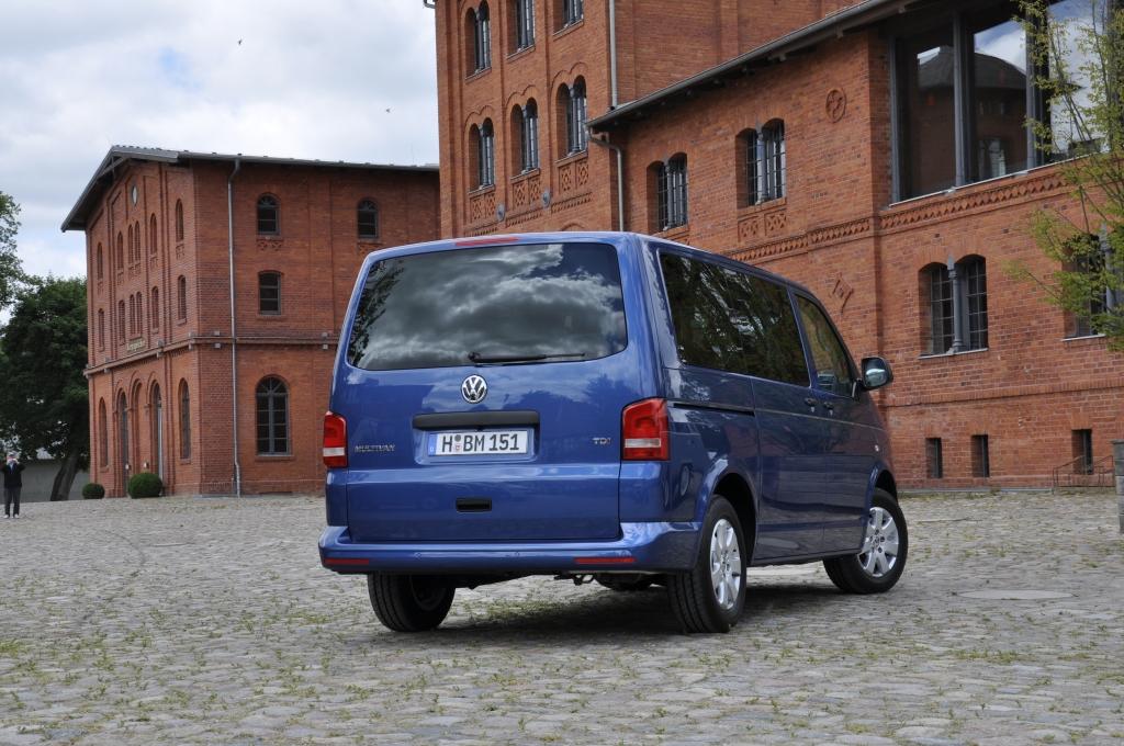 Fahrbericht: VW Multivan TDI BlueMotion - T-Party