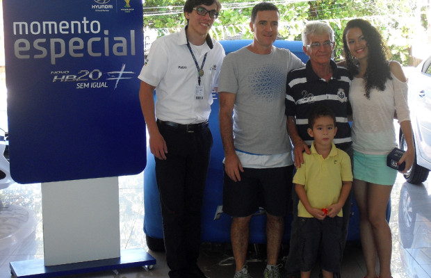 Familie, Auto, Fußball: Hyundai arbeitet sich auch im WM-Land Brasilien immer weiter vor