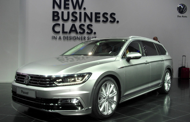Fast schon Phaeton-Feeling: VW kündigt achte Passat-Generation für November an