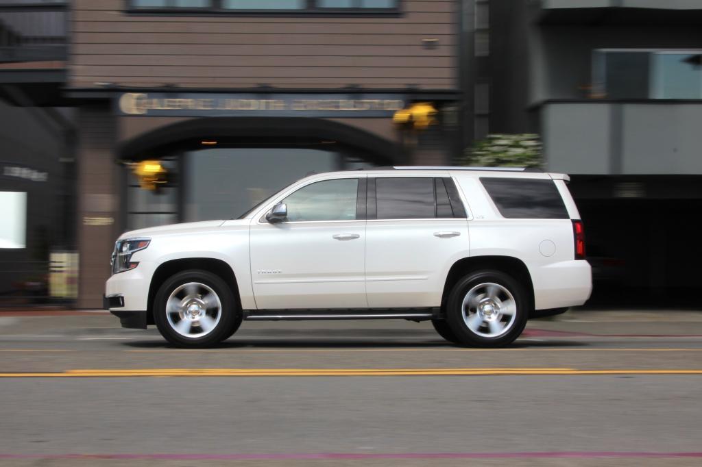 Gegen ein SUV wie den neuen Chevrolet Tahoe ist der Opel Mokka kaum mehr als ein Spielzeugauto.