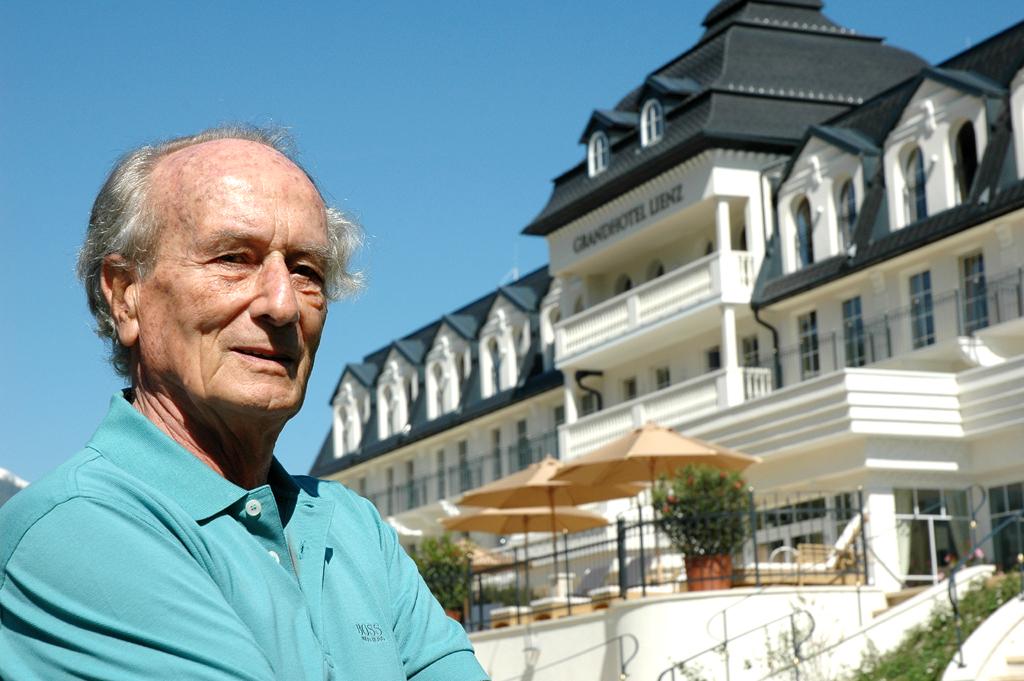 Heinz Simonitsch ist Miteigentümer des Grandhotels Lienz.