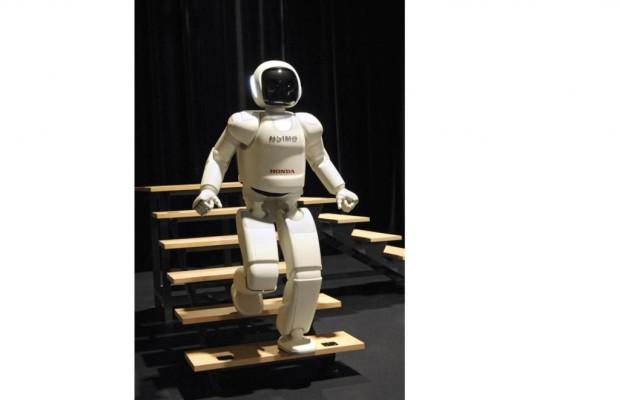 Honda Roboter Asimo - Noch spielt er nur