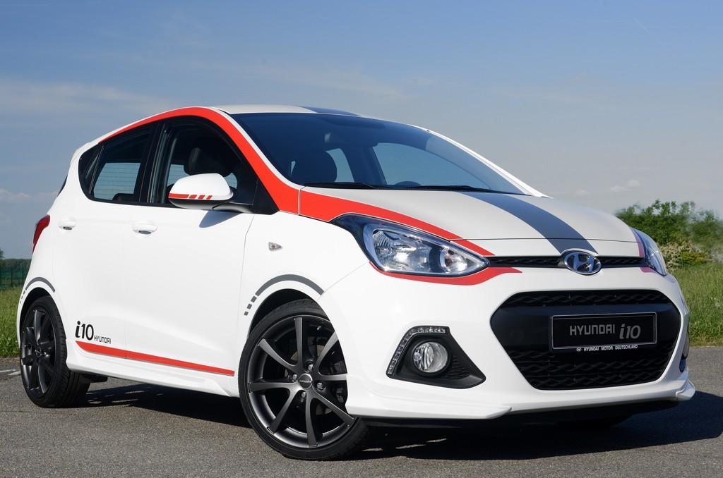 Hyundai bringt Sondermodell i10 Sport