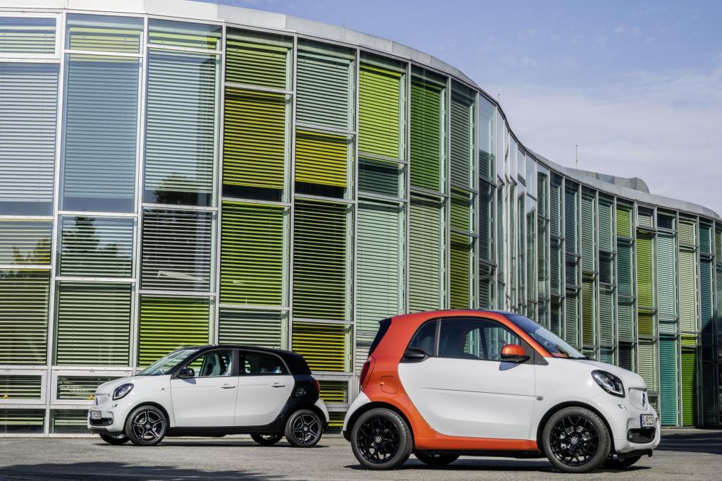 Im November kommt der neue Smart in den Handel.