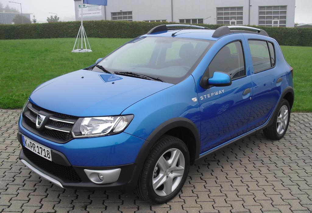 Im Offroad-Look: Dacia Sandero Stepway