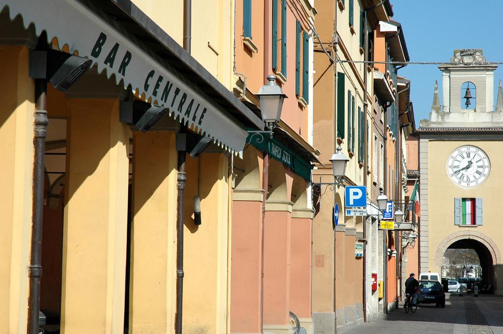 Im Ortskern von Sant'Agata Bolognese.
