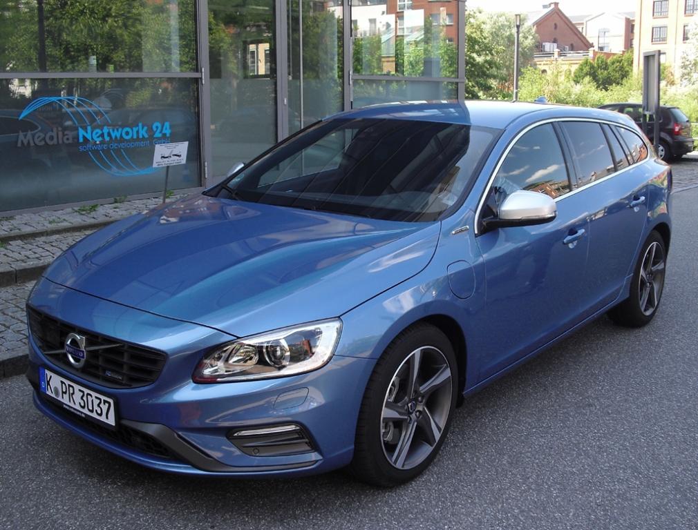 Im R-Design-Trainingsdress: Volvo V60 Plug-in-Hybrid.