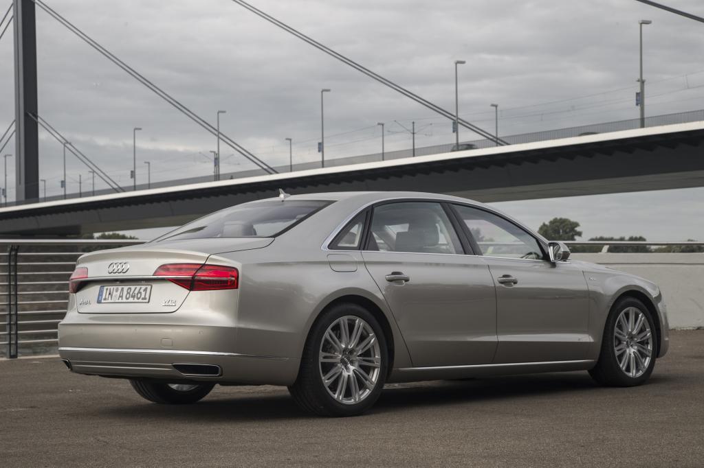 Im Test benötigte der Audi 14 Liter auf 100 Kilometern