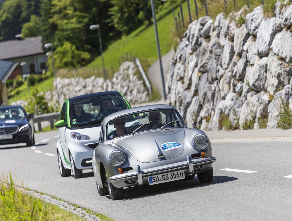 In der Publikumsgunst fährt der Smart im Schatten von Porsche 356 und Co.