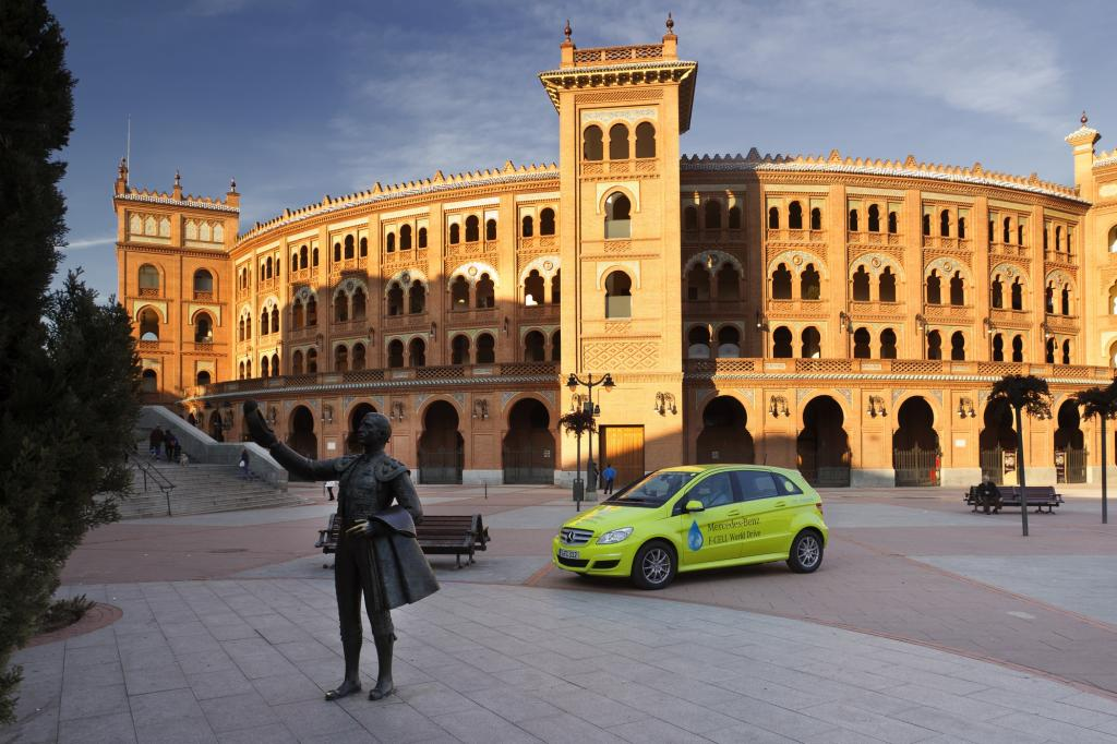 Intelligente Parkautomaten in Madrid - Spritschlucker und Stinker zahlen mehr