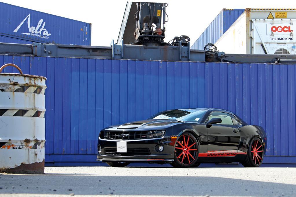 Kraftkur für den Chevrolet Camaro SS
