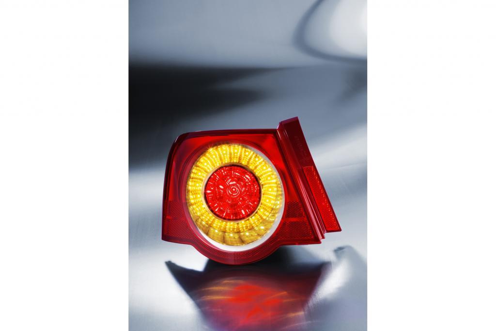LED-Licht in der Rückleuchte ist mittlerweile weit verbreitet