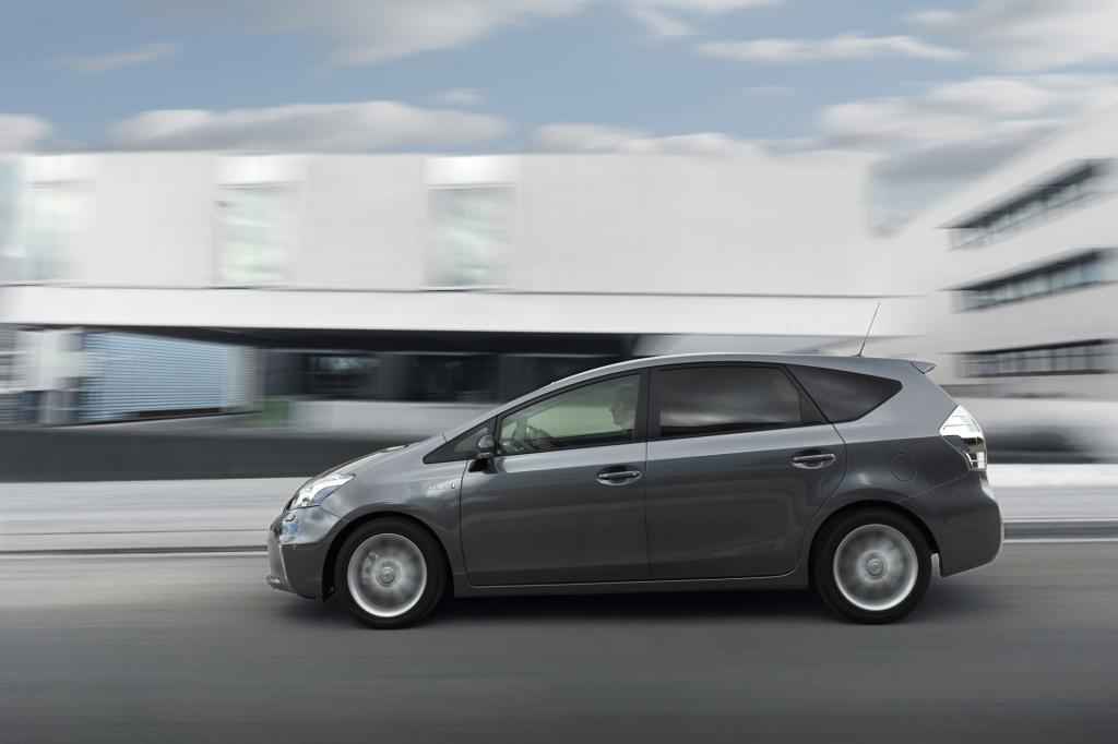 Lediglich 4,1 Liter soll der Kompakt-Van auf 100 Kilometern verbrauchen.