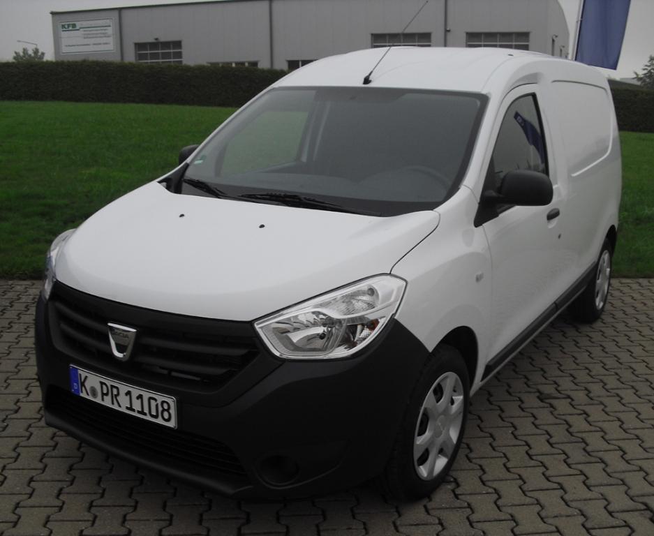 Leichtes Nutzfahrzeug: Dacia Dokker Express