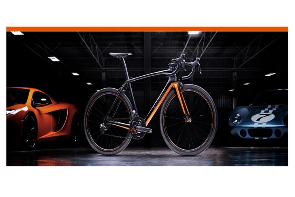 McLaren Fahrrad - Karbon-Renner zum Golf-Preis