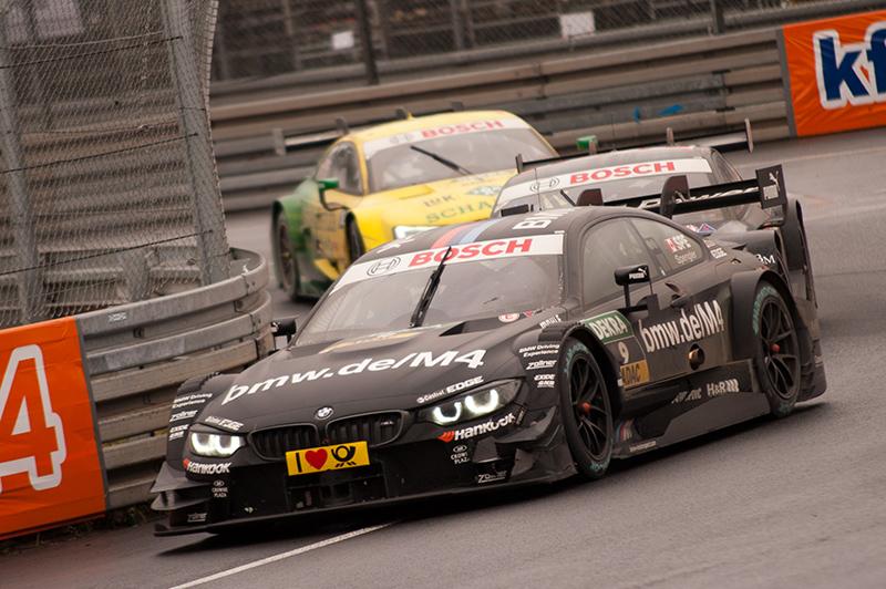 Mercedes-Benz-Pilot Robert Wickens feiert Start-Ziel-Sieg auf dem Norisring