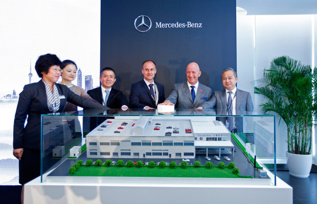 Mercedes-Benz eröffnet Trainingscenter in China