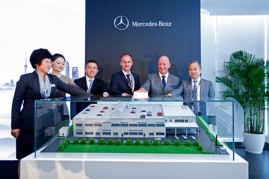 Mercedes-Benz eröffnet Trainingscenter in China