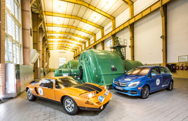 Mercedes-Benz stellt bei der Silvretta die größte E-Flotte