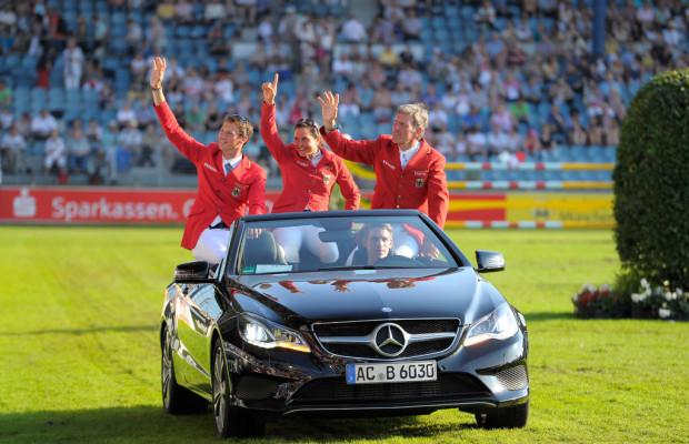 Mercedes-Benz unterstützt CHIO Aachen