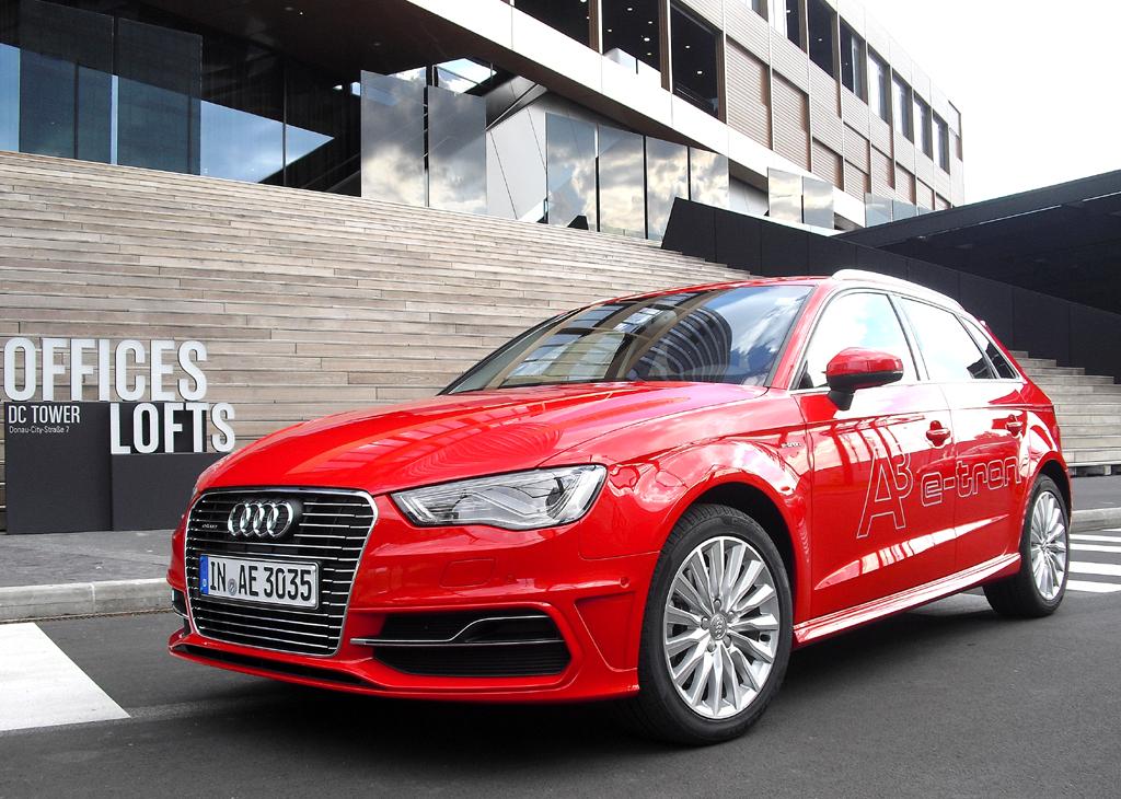 Mit Doppelherz-Kraft: Audis neuer A3 Sportback e-tron: