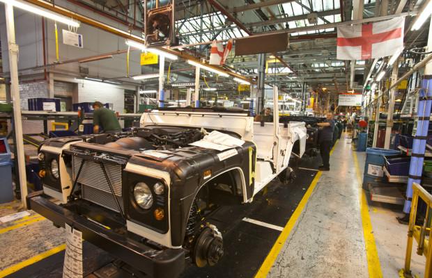Mit Land Rover ins Stammwerk und aufs Testgelände