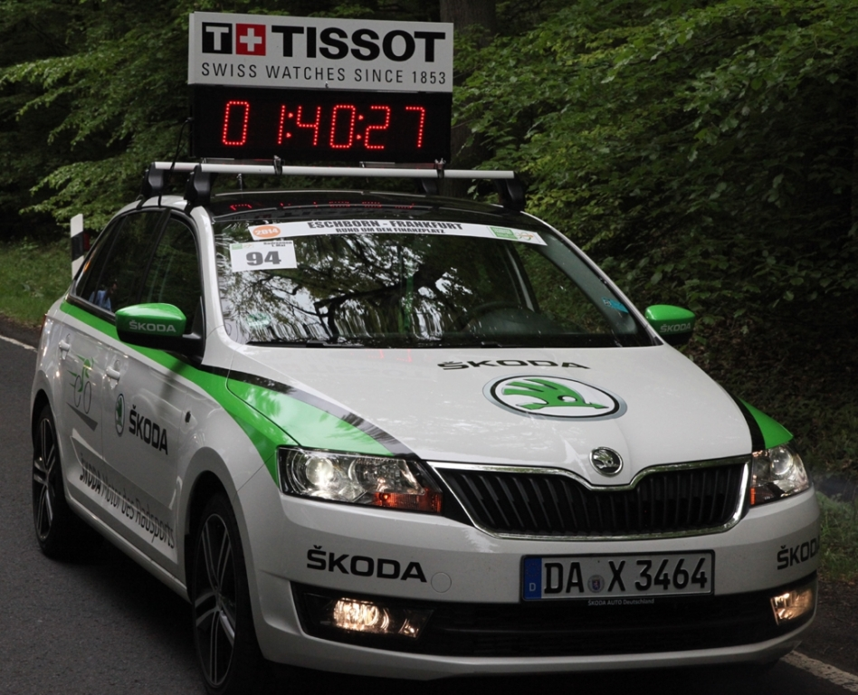 Mobile Schaltzentrale der Tour de France 2014: Skoda Superb