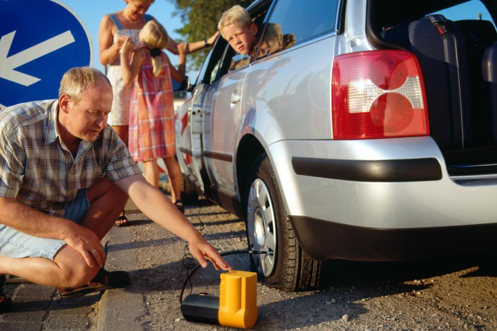 Mobilität nach Reifenpanne