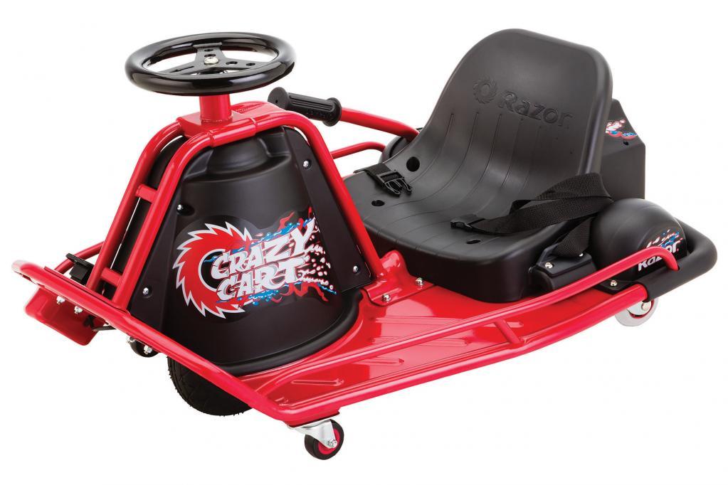Nervenkitzel mit dem Crazy Cart