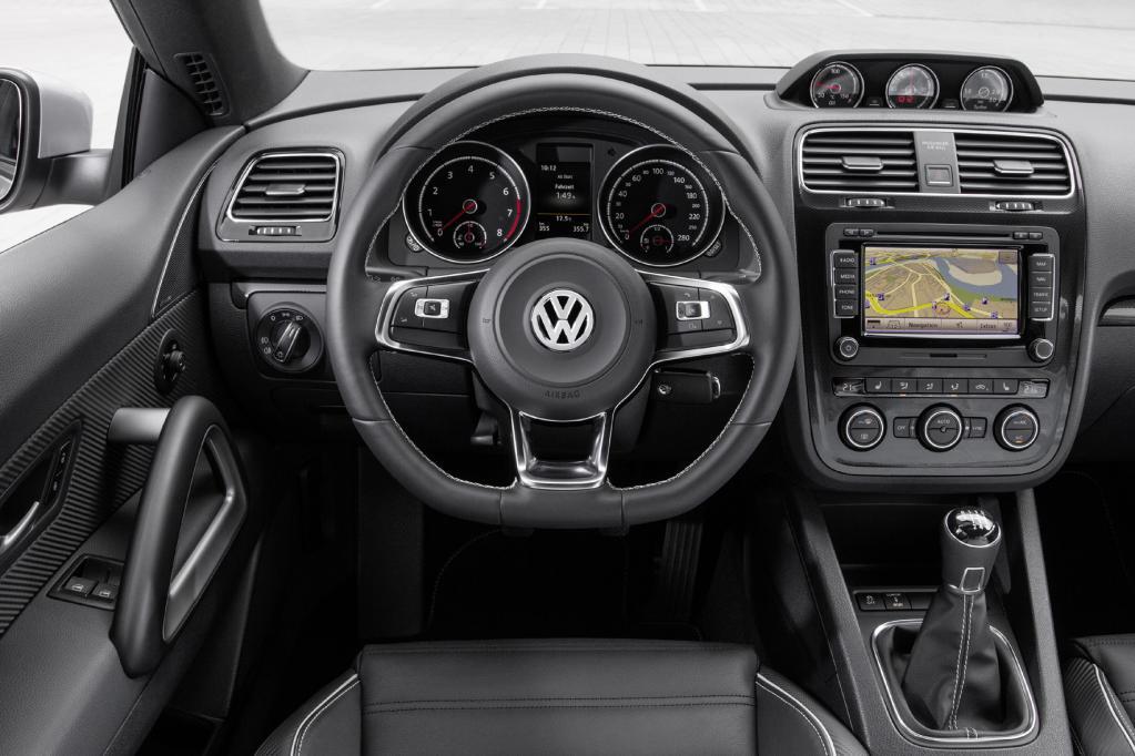Neue Motoren im Six-Pack: VW Scirocco stärker und sparsamer