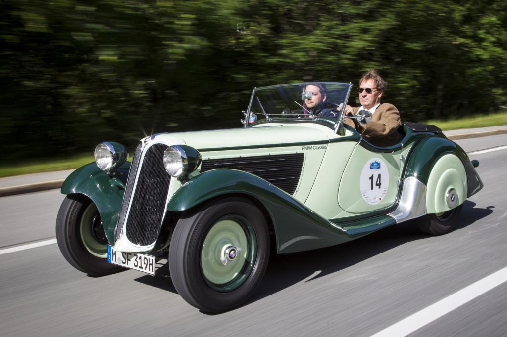 Oldtimer-Fahrbericht: BMW 319/1 Sport - Der erste Rennwagen mit der Doppelniere