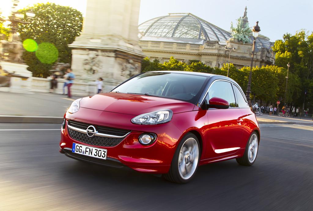 Opel Adam mit neuem Dreizylinder