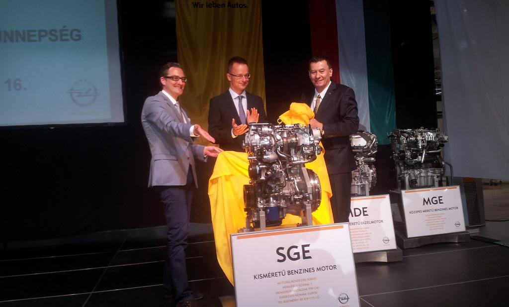 Opel startet Produktion der neuesten Motorenfamilie