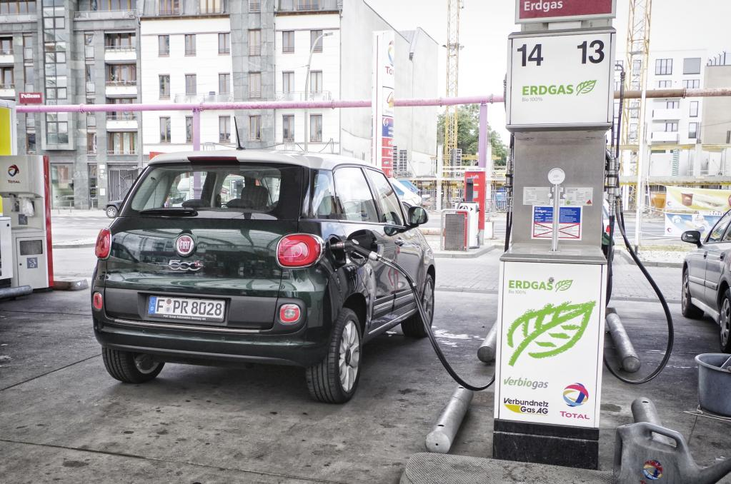 Panorama: Fiat 500 L Natural Power - Voll auf Gas