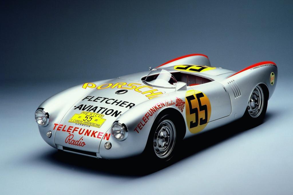 Porsche 550 Spyder, Foto © Porsche
