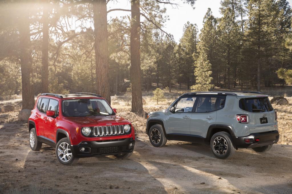Preise für den Jeep Renegade - Als Mini-SUV und Klein-Geländewagen