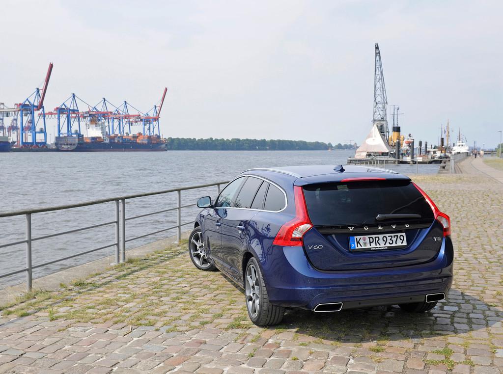 Pressepräsentation Volvo V60 T5 Geartronic Ocean Race: Steife Brise