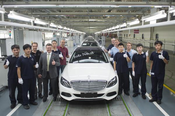 Produktion der langen C-Klasse gestartet